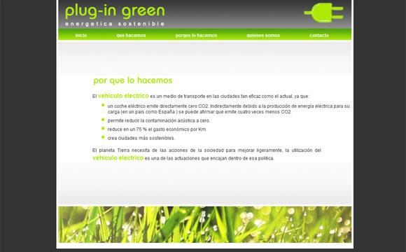 diseño web plug-ingreen