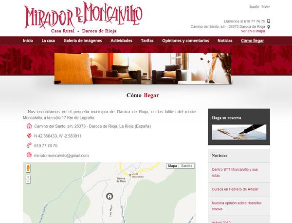 Pagina web casarural