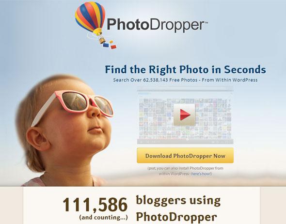 Plugin wordpress Fotos gratis