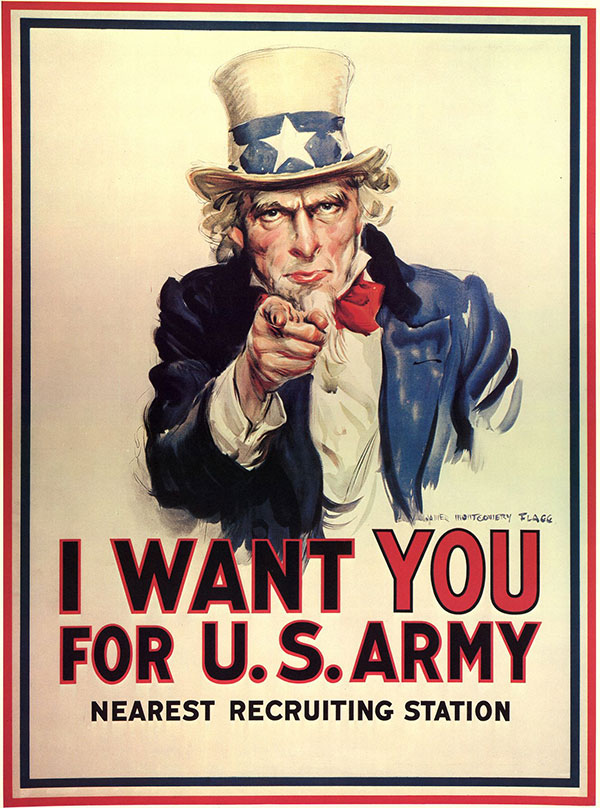 USA army wants you