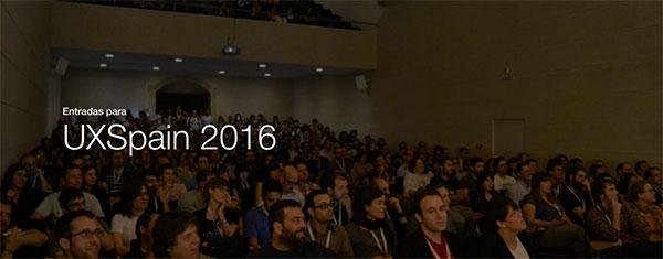 UXSpain2016