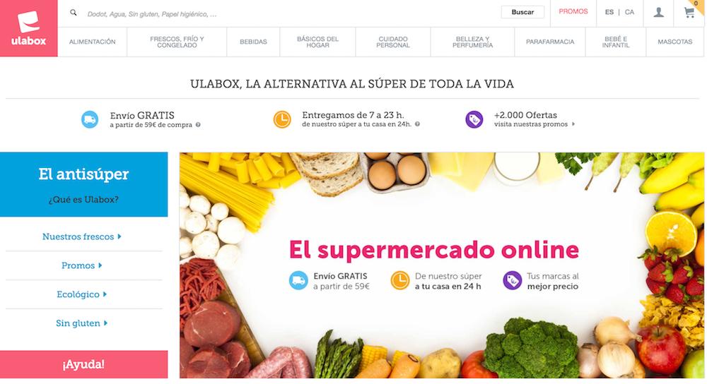 Supermercados online - Ulabox