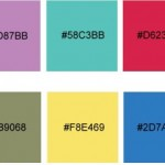 Tendencias de colores web