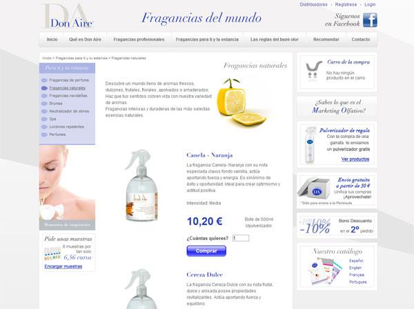 Web comercio electrónico