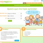 Diseño web FamilyMagicBox