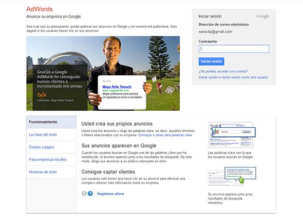 google vende experiencias