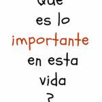 Lo importante….
