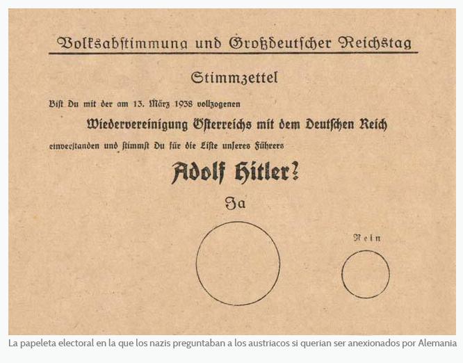 Papeleta Hitler