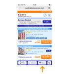 Listado de alojamiento adaptado a móviles II