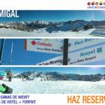 Imágenes destinos de nieve en redes