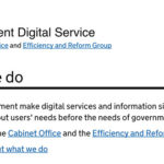 Gov.uk: keep calm and digital by default