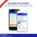 Anular/Modificar reserva App