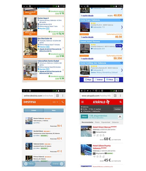 Imágenes móviles hoteles