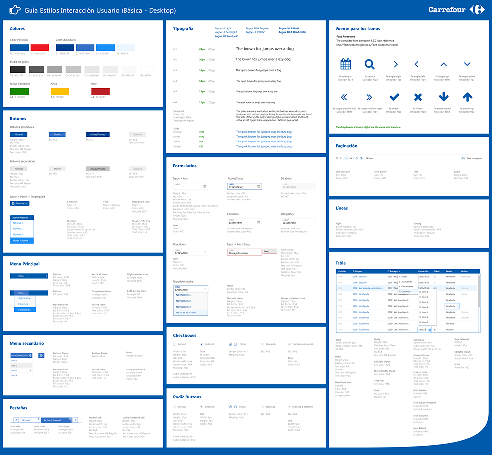 Web Guide Components