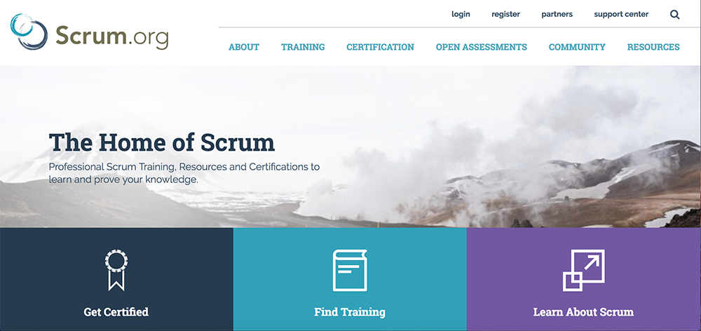 Web de Scrum.org
