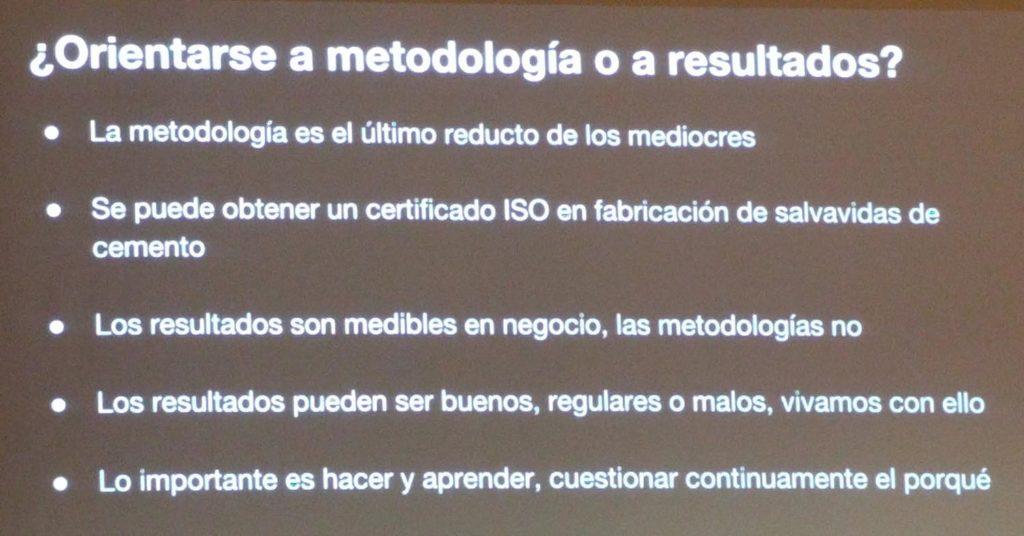 Metodologia o resultados