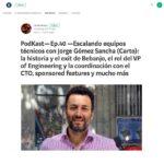 3 consejos para escalar equipos técnicos por Jorge Gómez Sancha