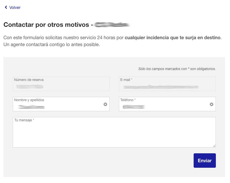 Mejorando los formularios de contacto