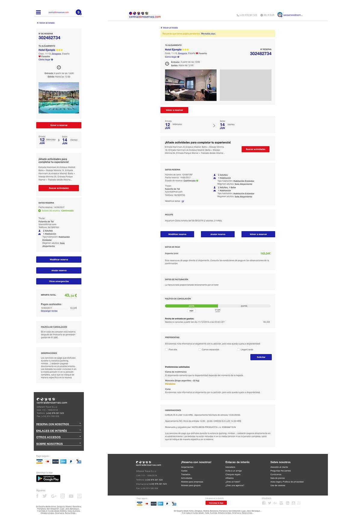Diseño y experiencia de cliente